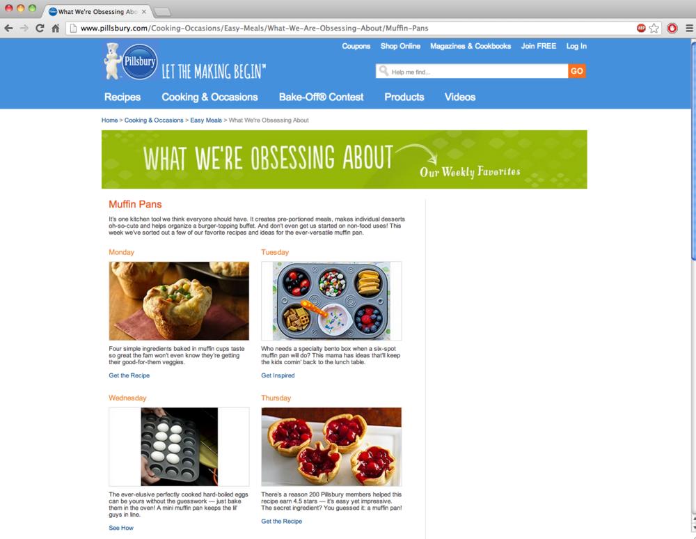 Pillsbury.com linking to one fo The Burlap Bag's posts!