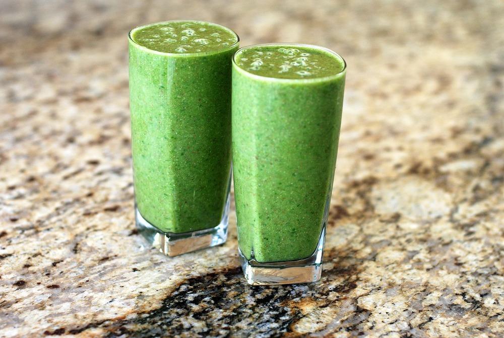 morning green shake low-carb recipe