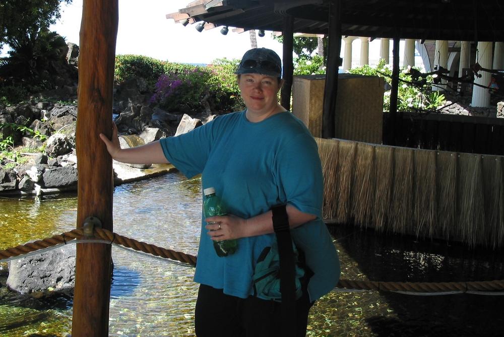 Sherene Hawaii Hat 2003.jpg