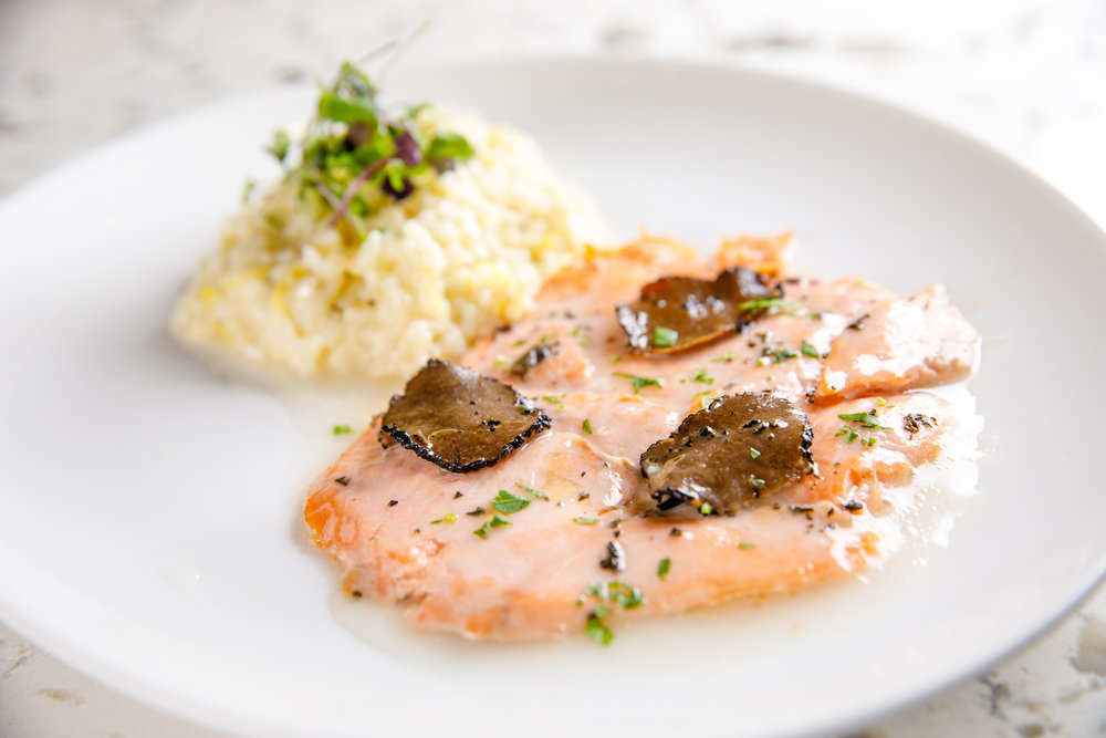 SALMON SCALOPPINI