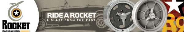 Rocket Racing Wheels digital web banner