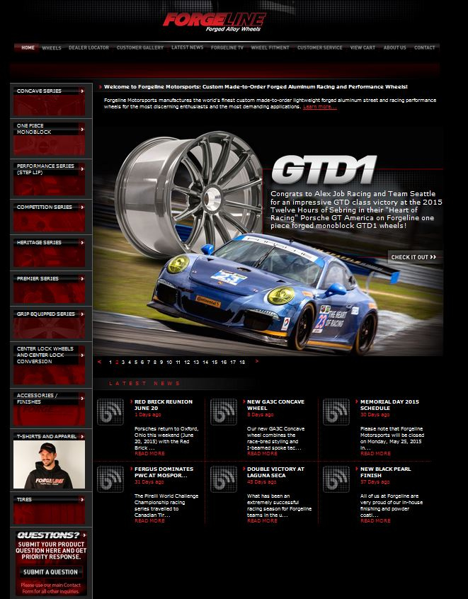 forgeline-wheels-website