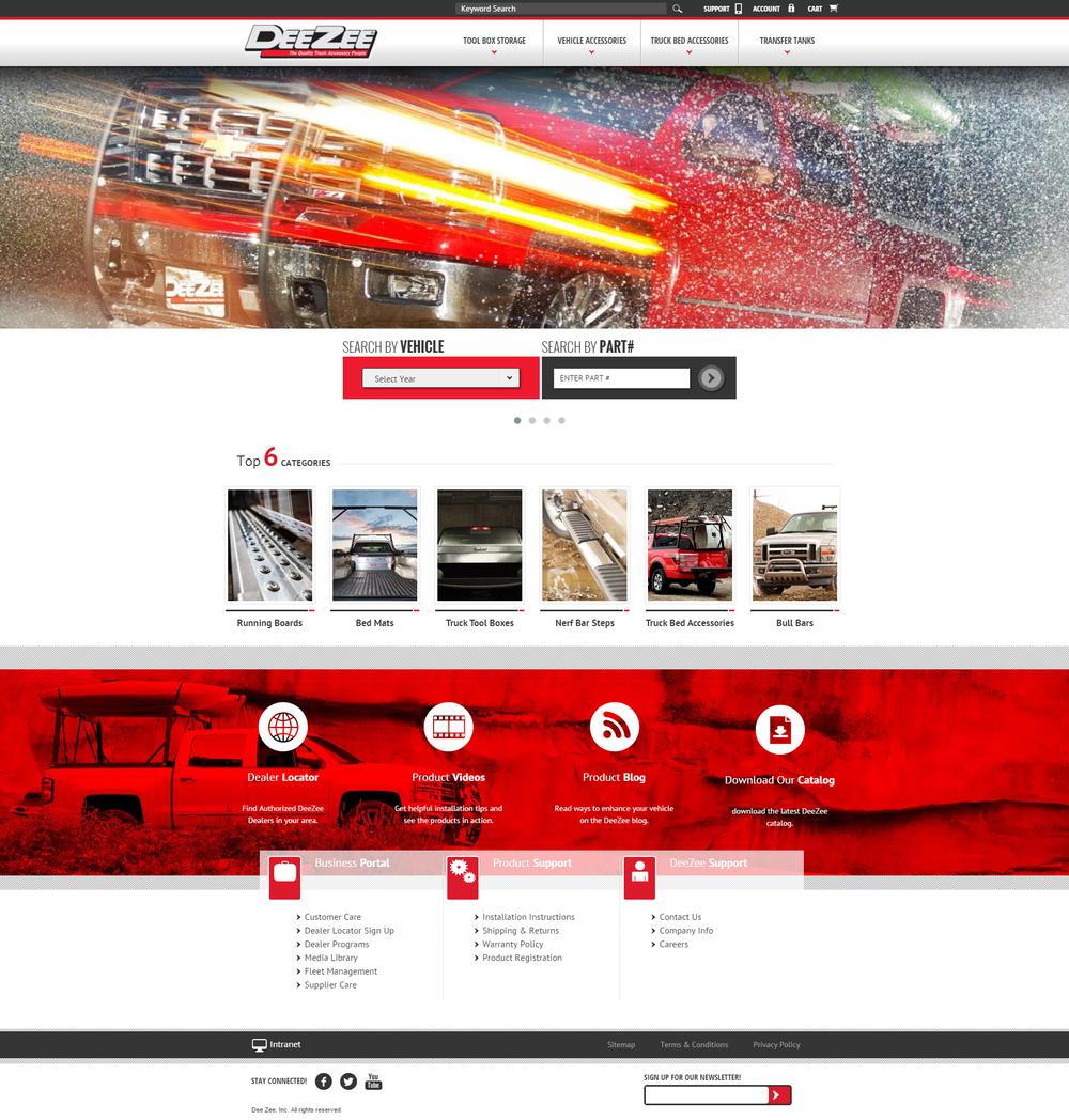 Deezee Website