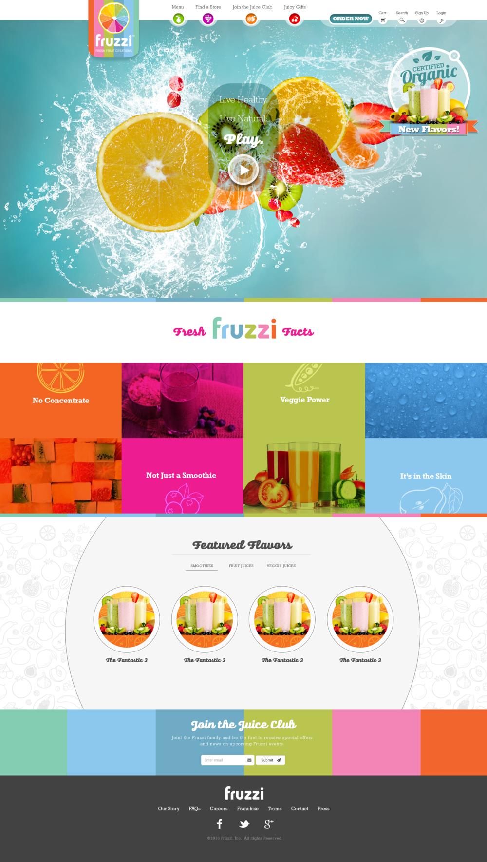 Fruzzi Website