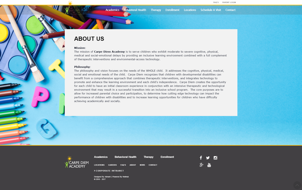 carpe-diem-academy-website