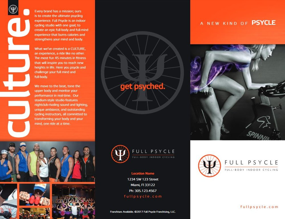 Full Psycle Trifold