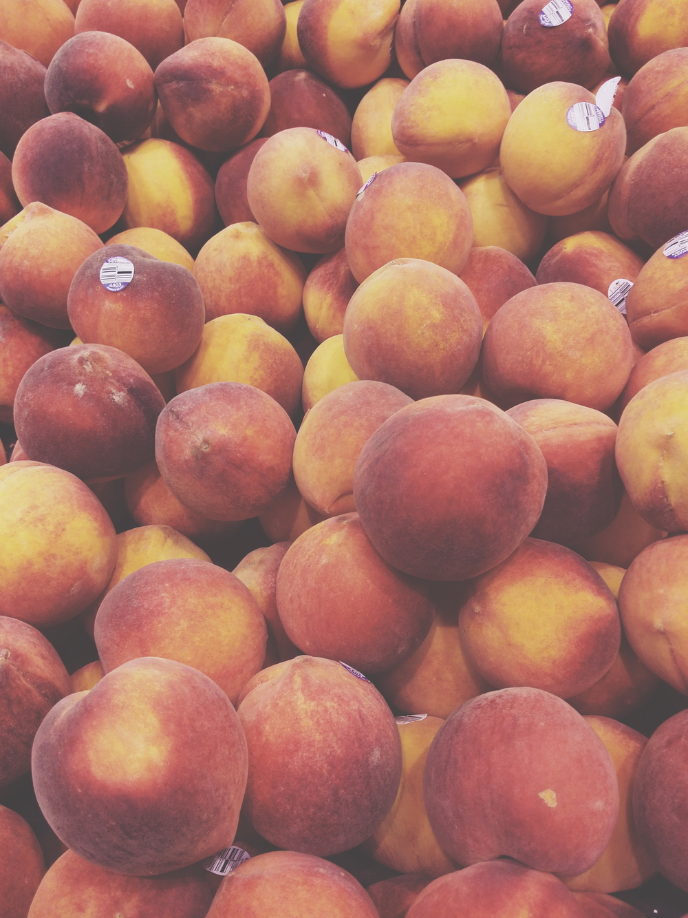 the last of the peaches