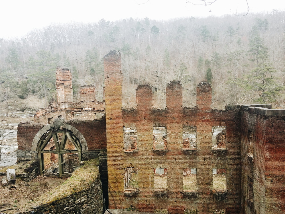 sweetwater mill ruins