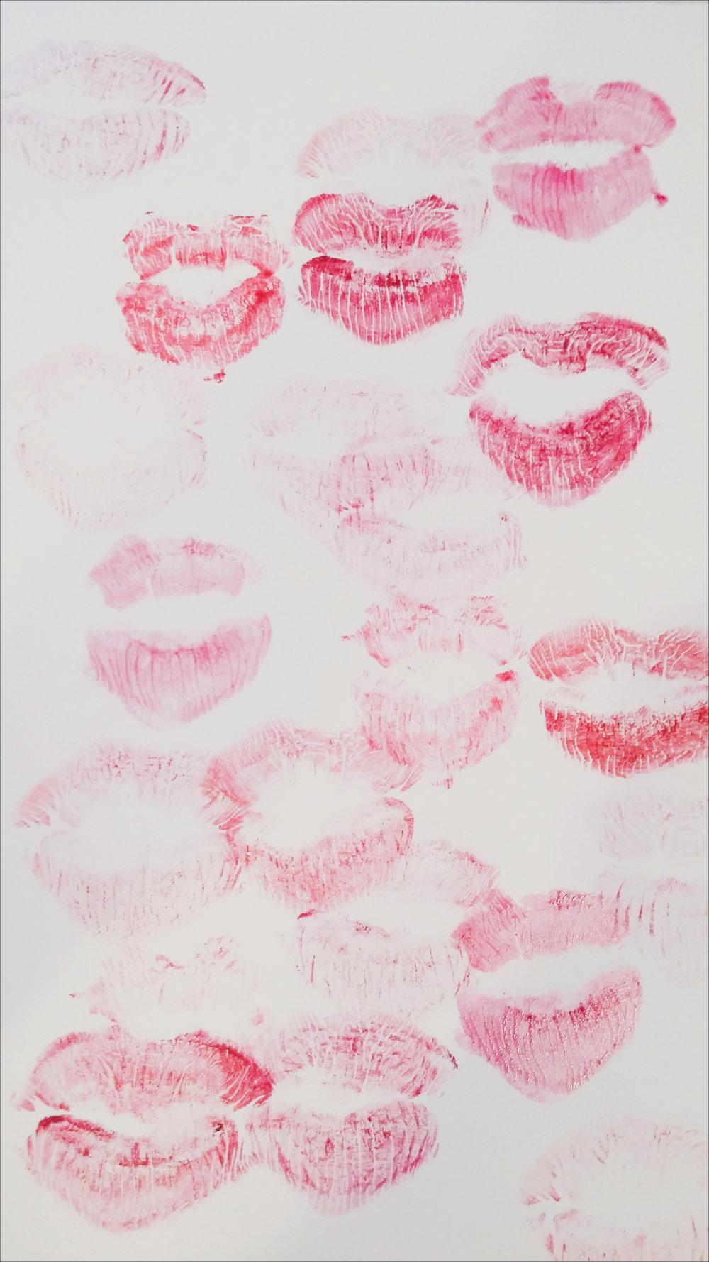 lipstick print