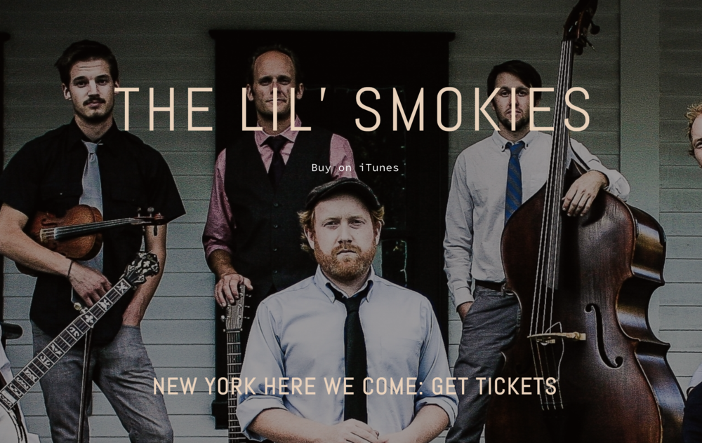 New York website visitors learn exactly when to expect Lil' Smokies.