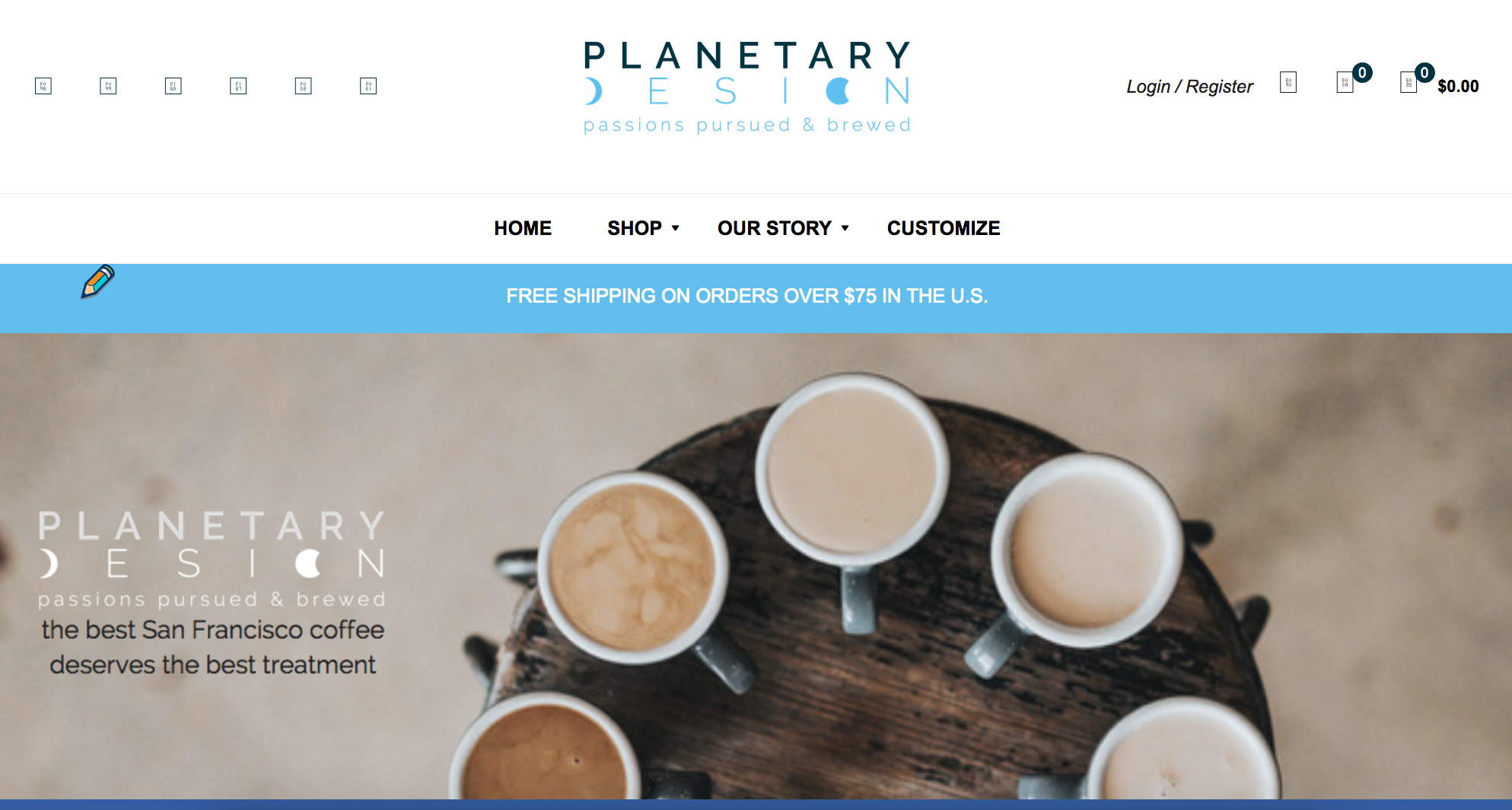 Planetary Design Campaign