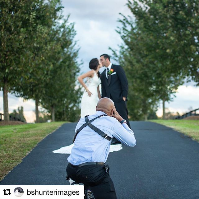 Sometimes I have the opportunity and pleasure of working with other members of my photography family. I was humbled when I had the opportunity to work with 2 amazing photographers this weekend. @dezmerrowphotos and I went to DC to assist Brandon (@bshunterimages) with a gorgeous (and super fun) wedding. - Brandon, Thank you for inviting me to be part of the team! This weekend was a blast!!! - -  #Repost @bshunterimages ・・・ Want to start showing more behind the scenes. From this weekends wedding with Greg and Anna. Congrats once again. 📷- @rpolglazephoto #bshunterimages