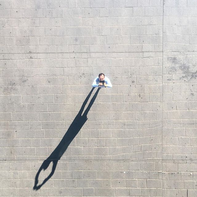 Marseille, Vieux Port #marseille #france #shadow #autoportrait