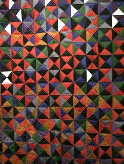 Amish Quilt, Broken Dishes, San Jose Textile Museum