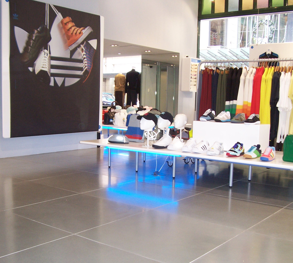 Addidas Retail Store - Sydney