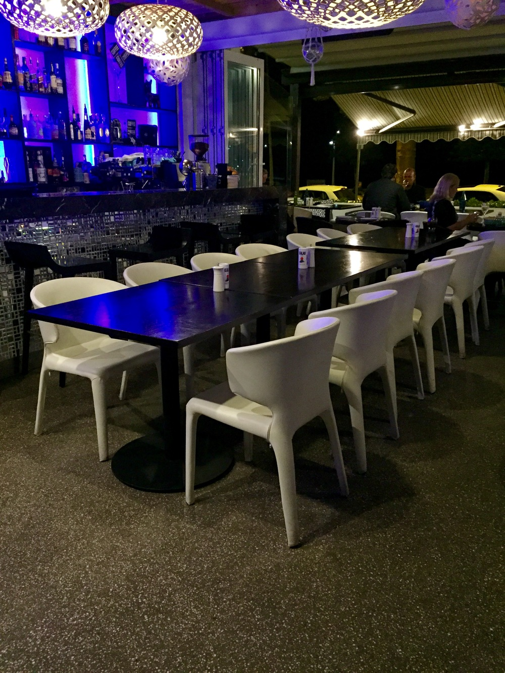 Restaurant in Sydney, Installed by Diamond Shine Polished Concrete