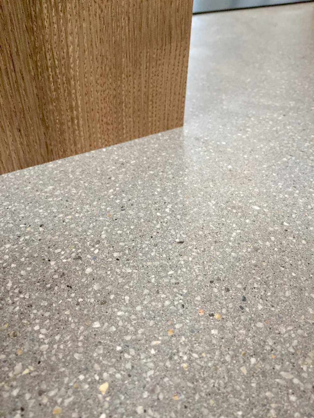 concrete with 3mm dove aggregate