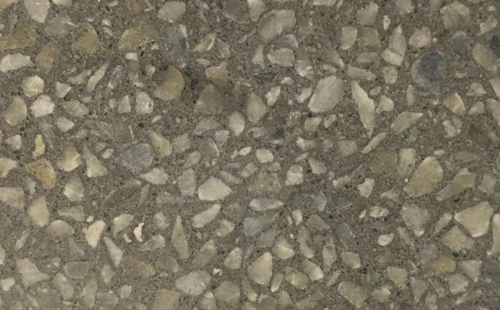 Base colour: Concrete Aggregate: Dove