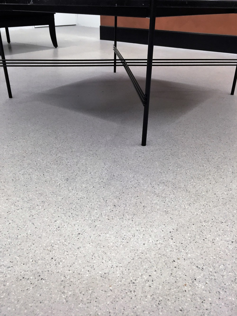 Office in Sydney CBD lvl 25 / Installed by Diamond Shine. Pietra (custom)  with 3mm Dove aggregate.