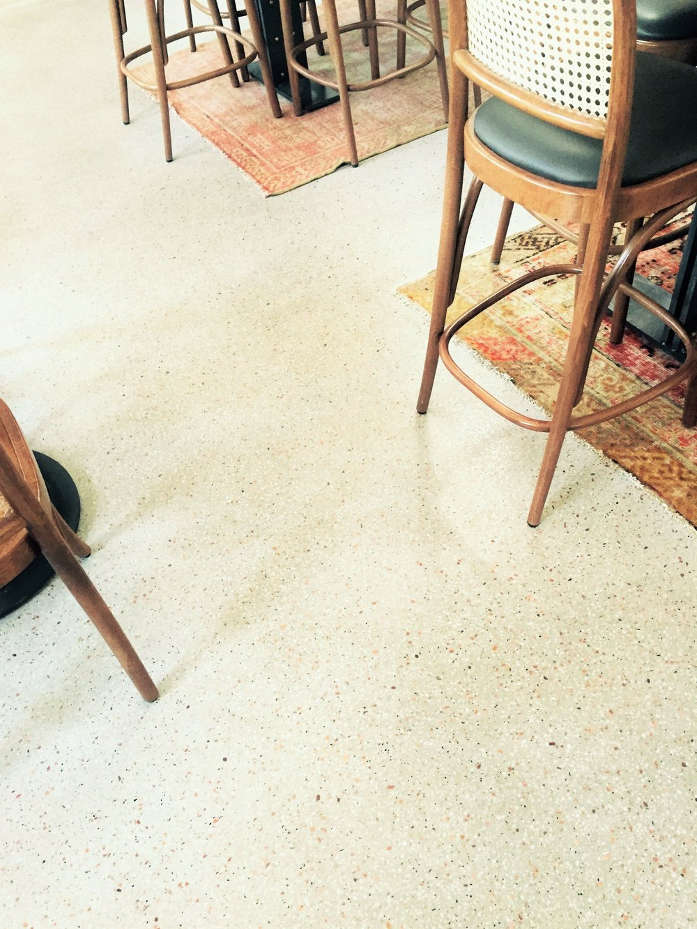 Paddington Inn Sydney by Diamond Shine Pty Ltd, Custom mix - 'Pietra' with 6mm Dove Marble
