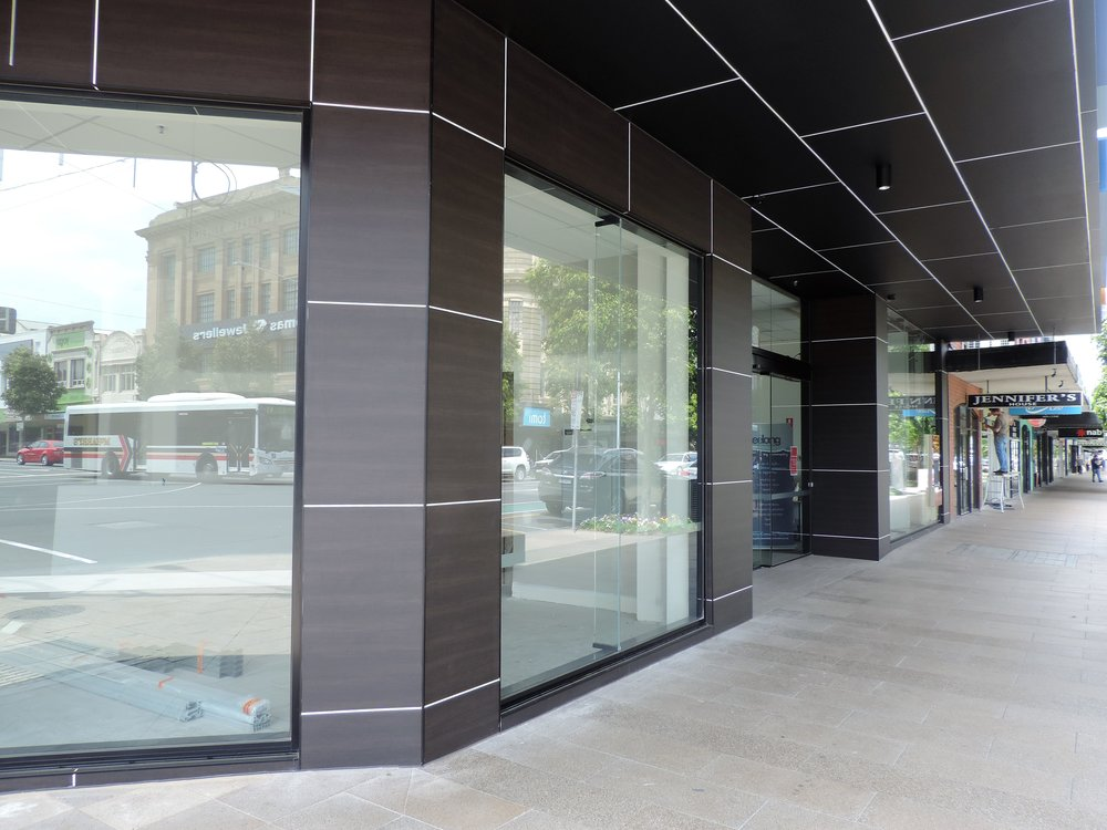 2mm Artboard FR (Colour Kakicha). Commercial property Geelong.