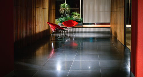 Interior Concrete Tiles - Coal