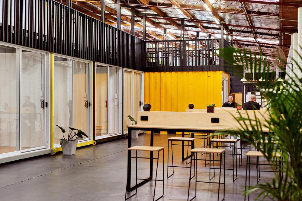 Entrepreneur Haus coworking space