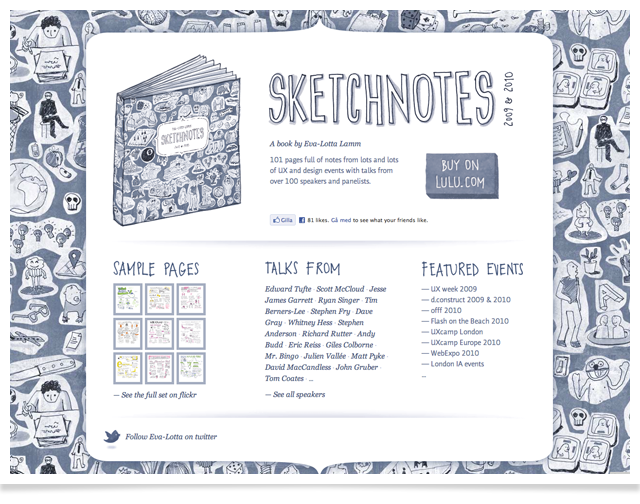 Sketchnotes Book by Eva_Lotta Lamm