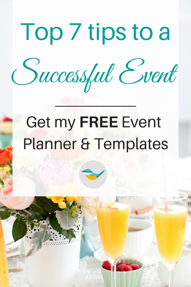 Top 7 tips to a successful event