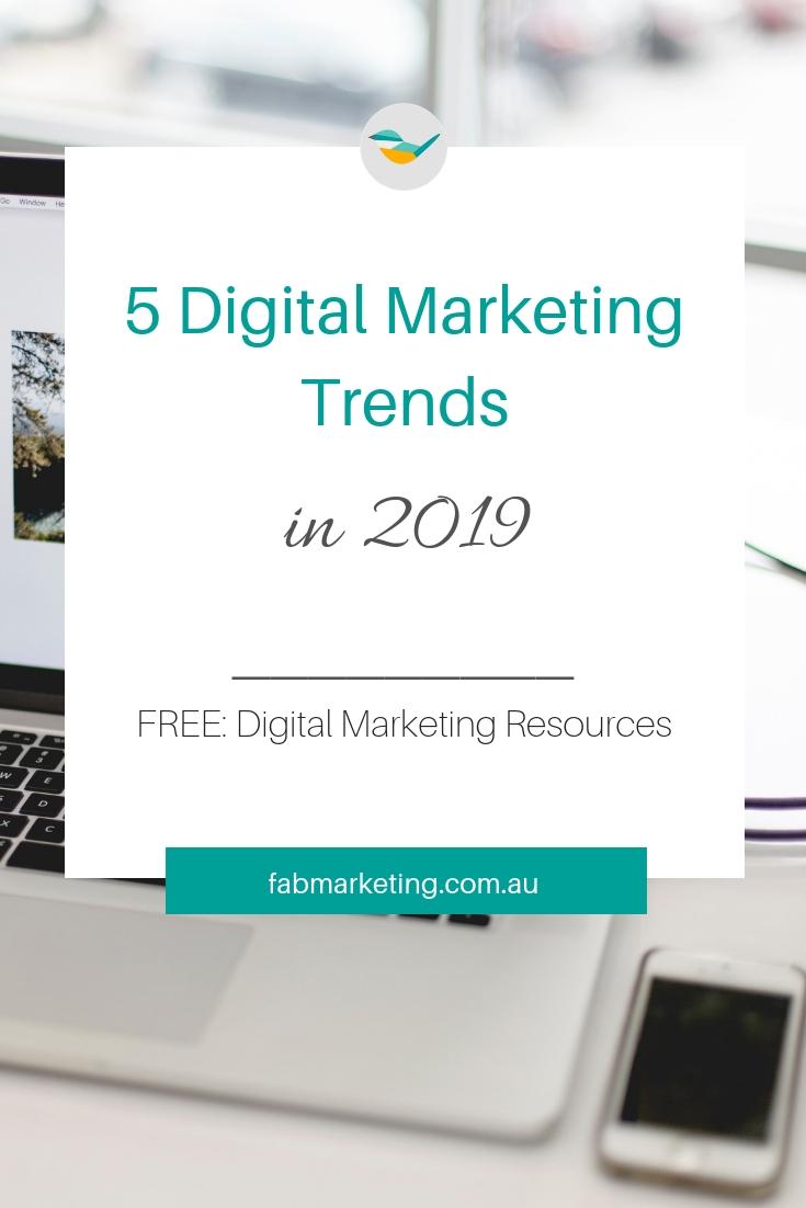 Five Digital Marketing Trends for 2019.jpg