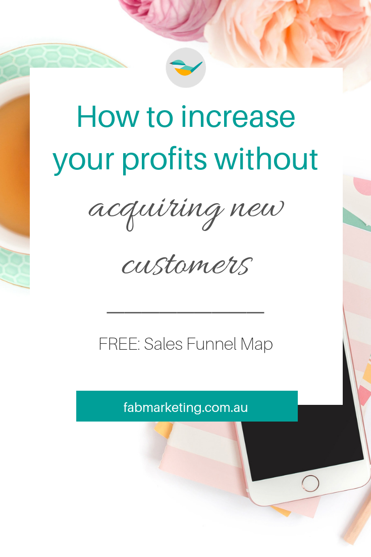How to increase profits without acquiring new customers
