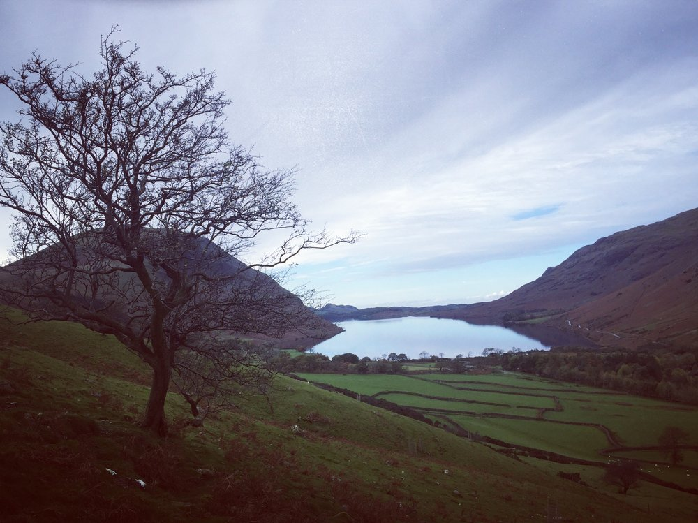 Looking back at Wasdale