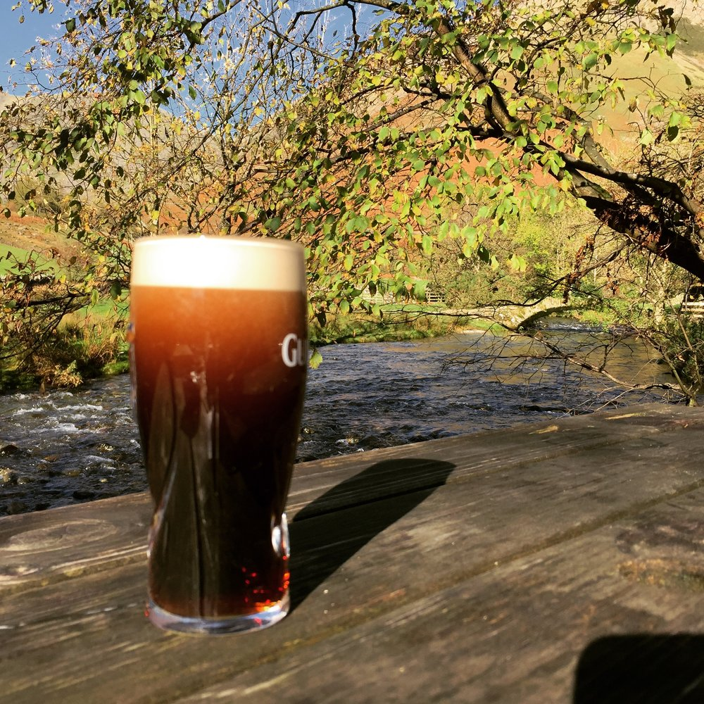 1/2 pint by the pack horse bridge at Wasdale Head