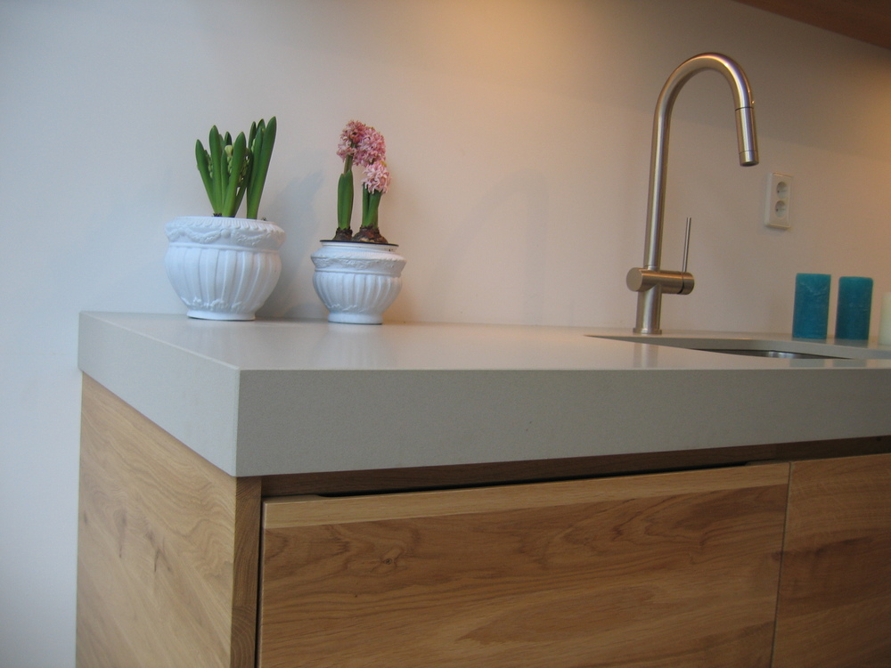 Keuken 3 hans wezenberg - Werkblad silestone ...