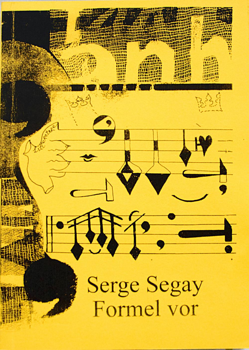 Formel vor: Serge Segay