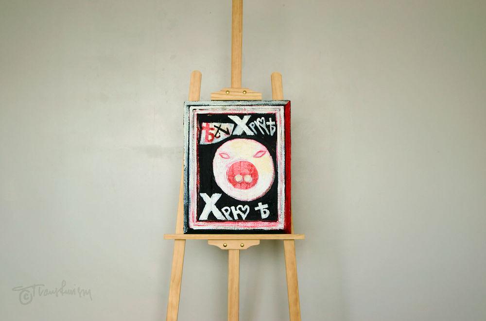 Tombeau de Bodhuin Simon, Pig Dada, Mail-Artist