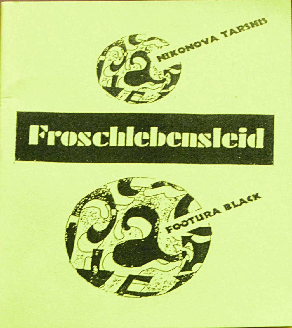 Froschlebensleid  : Anna Rea Nikonova Tarshis