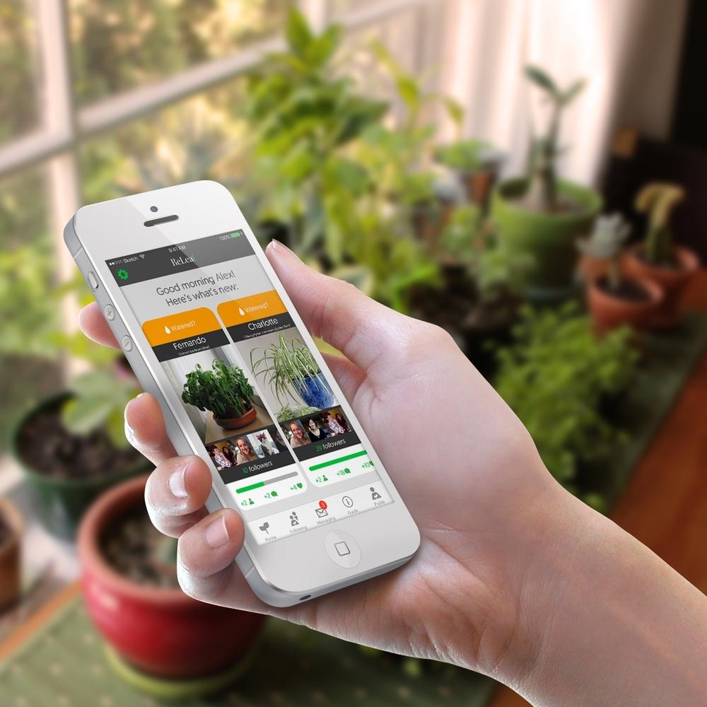 ReLeaf - Mobile App >