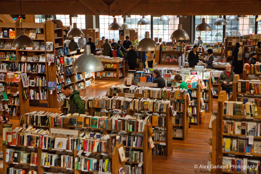 Elliott Bay Book Company on Capitol Hill, Seattle, WA.