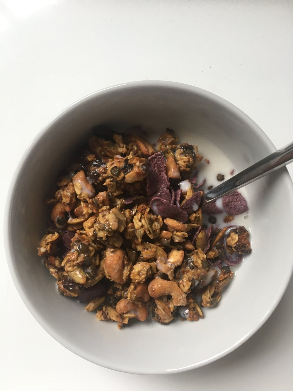 Secret Ingredient Super Crispy Granola