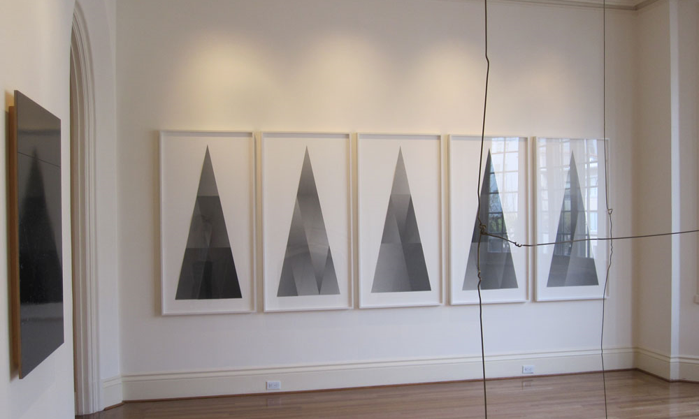 "Installation view, ""Kate Shepherd: News from Biathlon"", Anthony Meier Fine Arts, San Francisco, California"