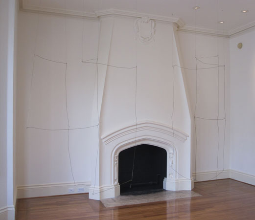 "Installation view,""Kate Shepherd: News from Biathlon"", Anthony Meier Fine Arts, San Francisco, California"