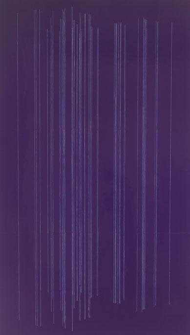 Dark Purple Soundboard, Upright Strings