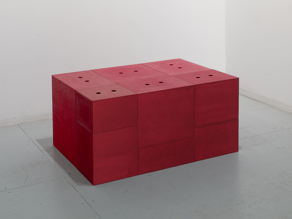 Red and Untitled Configurable Boxes