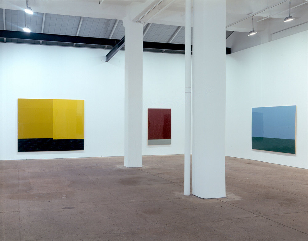 "Installation view, ""Wall, Floor, Rocky Crag"", Galerie Lelong, New York, New York"