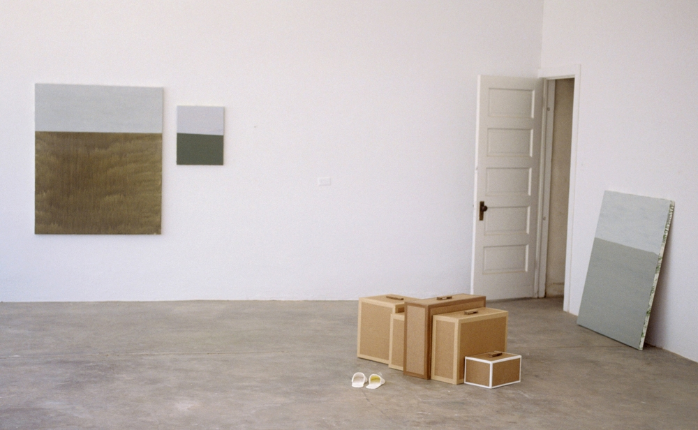 "Installation View, ""Locker Plant"", Chianti Foundation, Marfa, Texas"