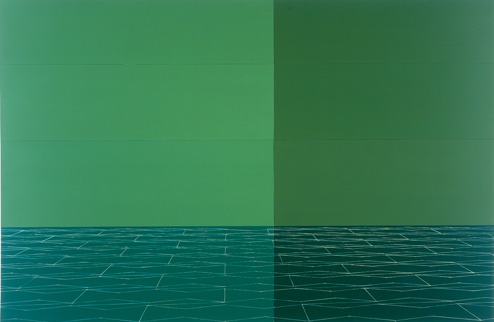 Green Floor 2005 - 2001 — kate shepherd