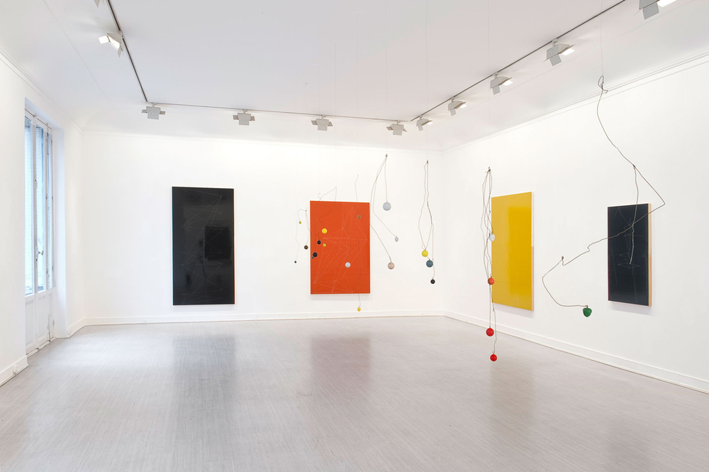 "Installation view, ""Sculpture Painting"", Galerie Lelong, Paris, France"