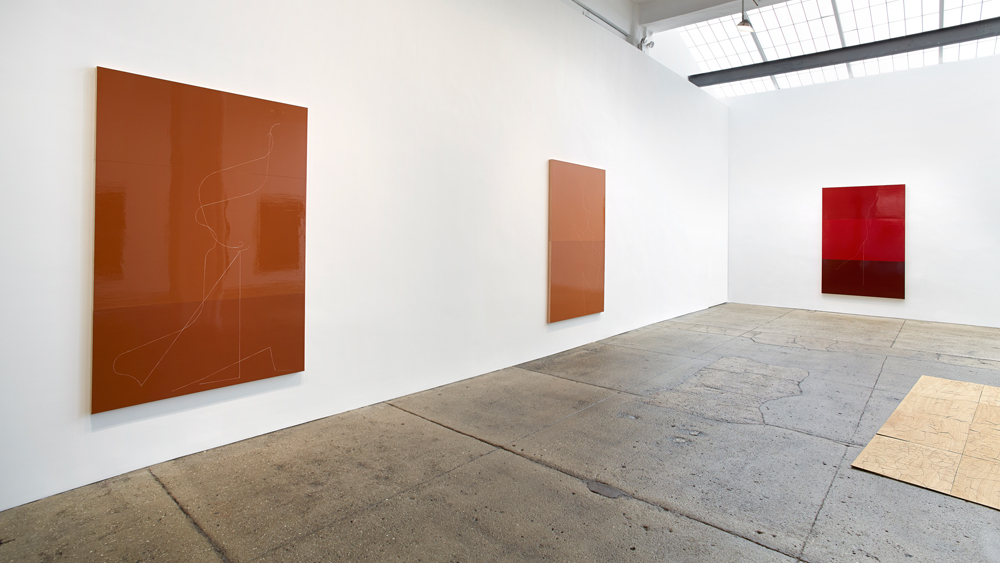 "Installation view, ""Fwd: The Telephone Game"", Galerie Lelong, New York, New York"