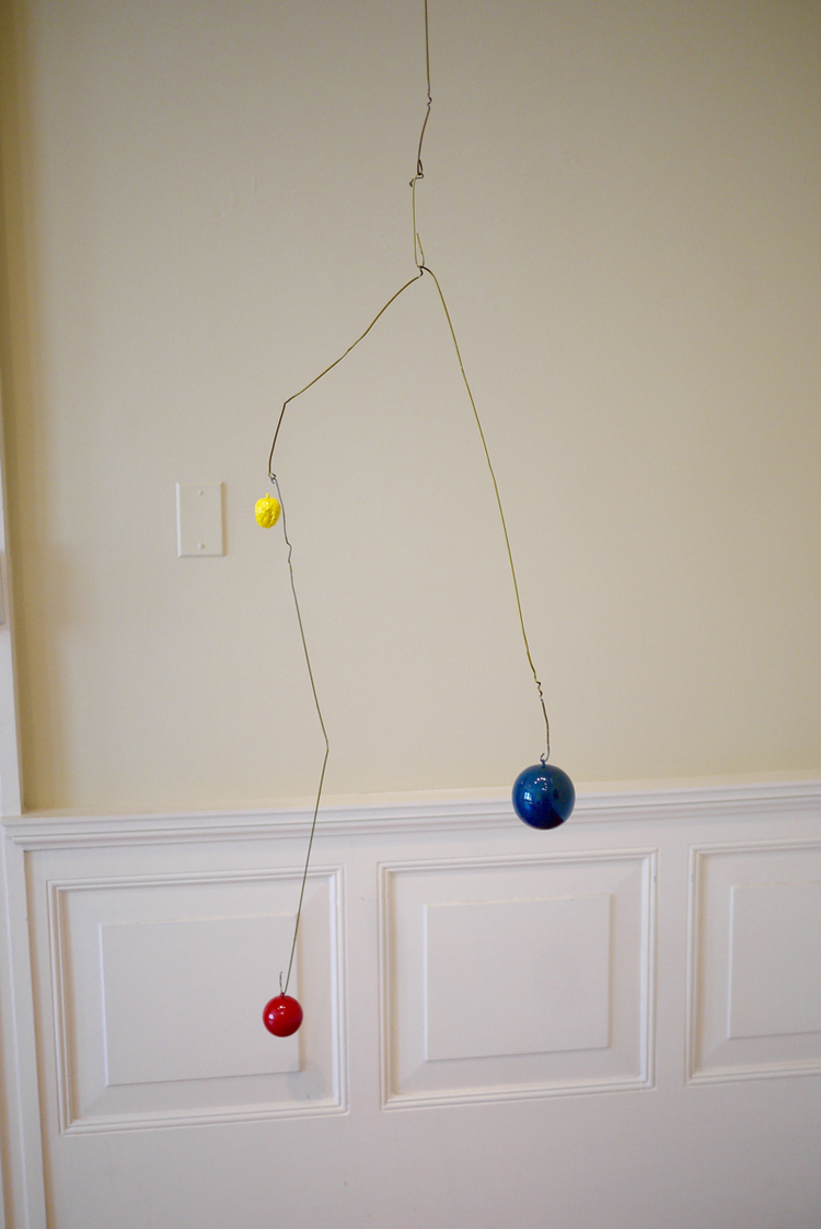 """Intersections: Relation to and yet not (homage to Mondrian)"" ball and wire,  The Phillips Collection, Washington, D.C.jpg"
